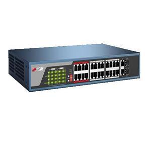 24-port 10/100MbpsUnmanagedPoE Switch HIKVISION DS-3E0326P-E/M