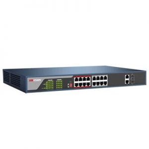 16-port 10/100Mbps PoE Switch HIKVISION DS-3E0318P-E/M(B)