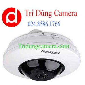 Camera HD-TVI Fisheye hồng ngoại 5.0 Megapixel HIKVISION DS-2CC52H1T-FITS