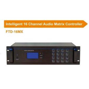 Intelligent 16 Channel Audio Matrix Controller  FTD-16MX