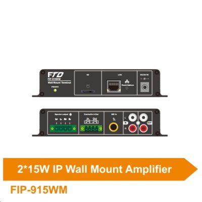 Amplifier IP treo tường 2*15W FIP-915WM