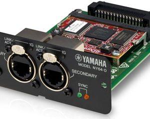 Thẻ Dante cho bàn trộn Yamaha NY64-D ZM45080