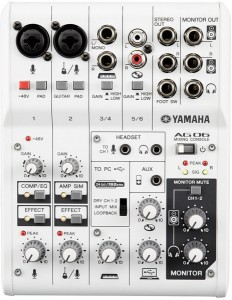 Bàn trộn âm thanh Yamaha AG06 (ZP32540)