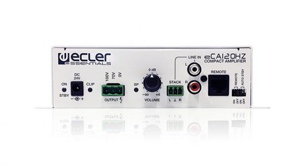 Bộ khuếch đại âm thanh 1x120W Ecler eCA120HZ