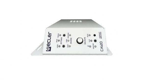 Bộ khuếch đại âm thanh tích hợp AV 2x60W Ecler CA120