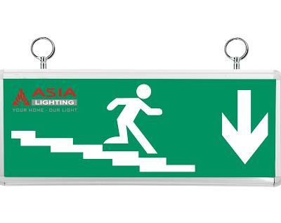 Đèn chỉ dẫn đi xuống cầu thang ECX-01 Mặt