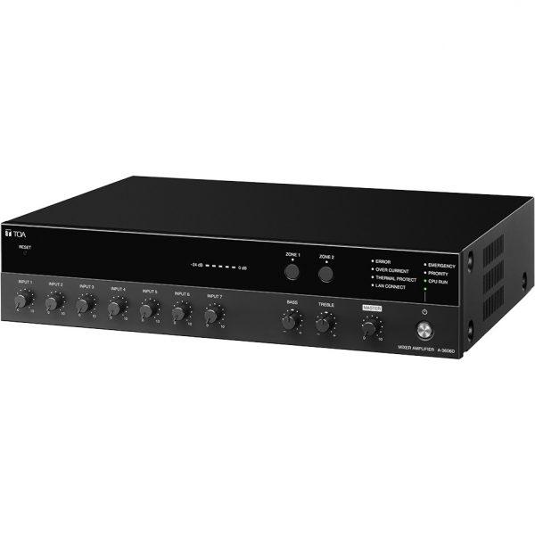 Tăng âm số 120W liền Mixer chọn 2 vùng A-3612D