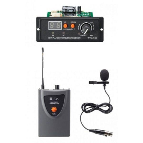 Bộ micro không dây cài áo cơ động WS-Z100L SE1AS