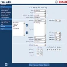Phần mềm PRAESIDEO cho PRS-NCO-B PRS-SW
