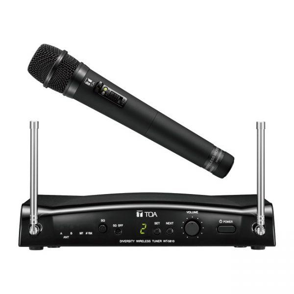 Bộ micro không dây cầm tay UHF WS-5225 F01ER