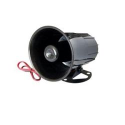 Loa báo động có sẵn mạch dao động loại to 12VDC (đen)