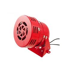 Còi hơi 220V, âm lượng lớn cho khu vực rộng, nhà xưởng ( màu đỏ )