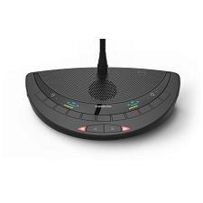 Hộp đại biểu 2 người dùng, 2 nút bấm micro Televic Confidea T-2D2I