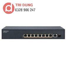 Edgecore ECS1020-10P Gigabit Switch PoE (140W, 8 PoE + 1 GE + 1 SFP)