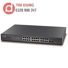 Switch PoE 24 Port Gigabit PoE 2G SFP Edgecore ECS2000-26P
