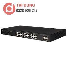 Edgecore ECS2020-28T Gigabit Switch (24 GE + 4 SFP)