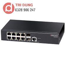 Edgecore ECS2100-10T Gigabit Switch (8 GE + 2 SFP)