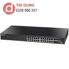 Edgecore ECS2100-28P Gigabit Web-Smart Pro Switch PoE (200W, 24 PoE + 4 SFP)