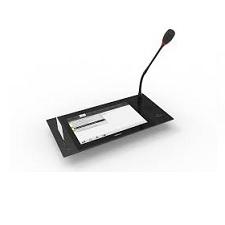 Hộp đại biểu gắn âm bàn có màn hình cảm ứng Televic uniCOS F/MM 10